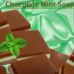 Chocolate Mint Soap Instagram
