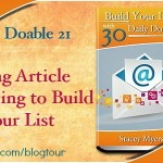 30 Daily Doables 21