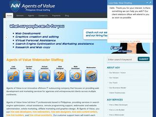 Agents of Value, Philippines Outsourcing Company