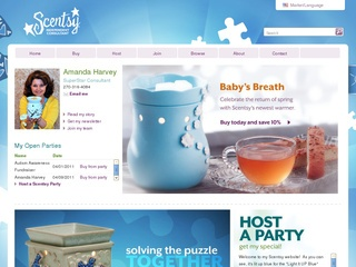 Amanda Harvey Scentsy Independent Consultant