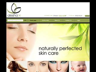 Alesha K Natural Skincare Products