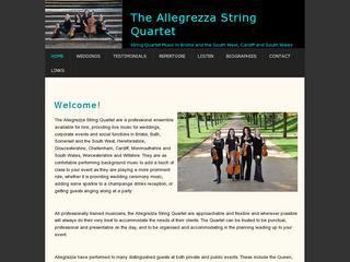 Allegrezza Wedding String Quartet