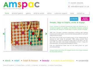 Amspac Cotton Bags