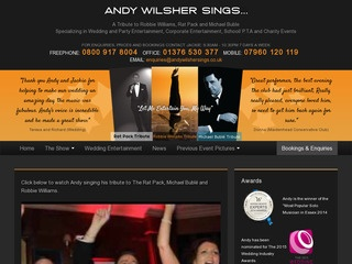 Andy Wilsher Sings...