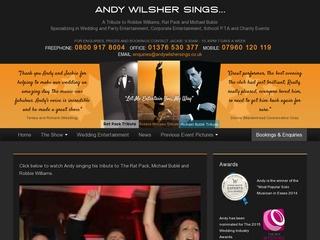 Andy Wilsher Sings...