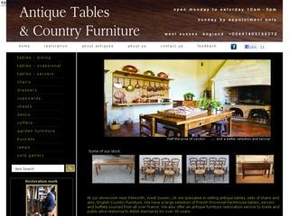 Antique Tables UK - French Farmhouse Tables - Refectory Tables - Antique Dining Tables
