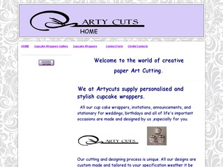 Artycuts - Personalised Cupcake Wrappers