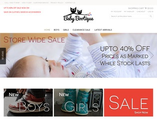 Baby Bootique - Baby Clothes & Footwear