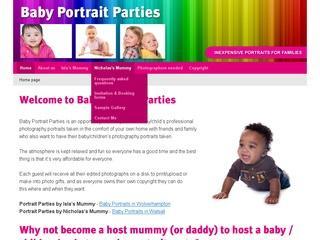 Baby Portrait Parties