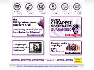 Utility Warehouse Discount Club