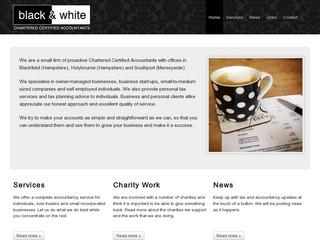 Black and White Chartered Certified Accountants