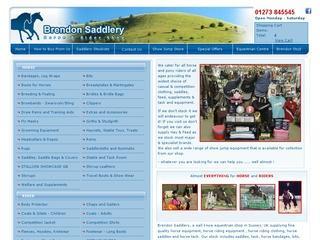 Equestrian Shop UK - Horse Equipment - Horse Riding Clothing - Horse Riding Equipment:: Brendon Saddlery