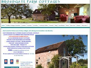 Yorkshire Wolds luxury cottages