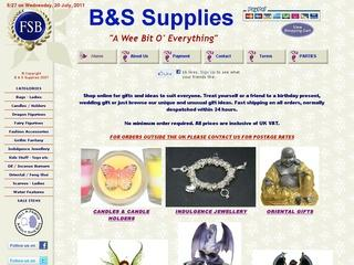 B & S Supplies (A wee bit o' everything)