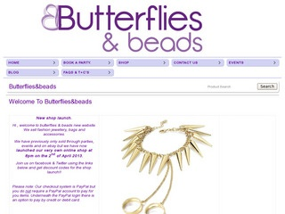 Butterflies & Beads