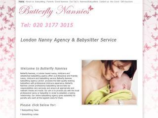 Butterfly Nannies London Babysitting Agency