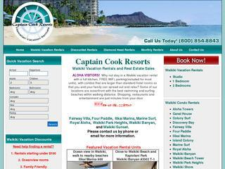 Captain Cook Resorts