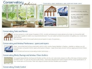 Conservatory Advice - Conservatory Window Maintenance - Conservatory Blinds - Conservatory Repair