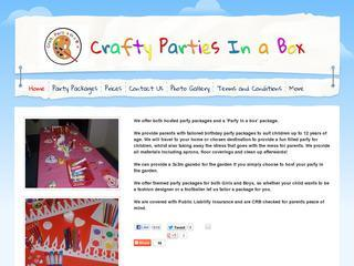 Crafty Parties in a Box
