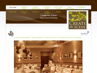 Create the Scene - Party and Event Decoration Service