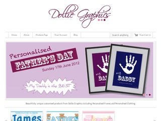 Dollie Graphics Personalised Gifts