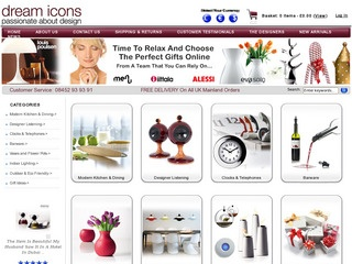 Dream Icons - Online Boutique For Contemporary Gifts And Home Accessories