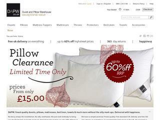 DAPW - Duvet and Pillow Warehouse