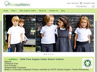 Ecooutfitters 100% Organic Cotton School Uniform