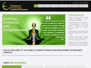 Website Design & Development By Magento Developers For All Ecommerce websites.