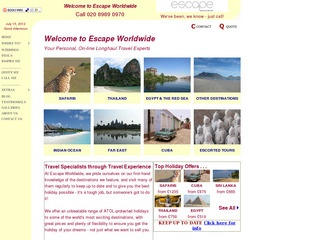 Escape Worldwide - Family Long Haul Holidays