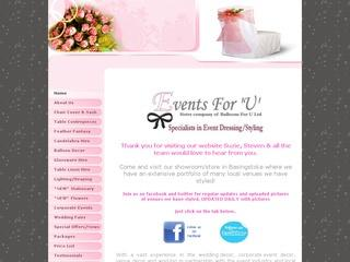 Events For U Venue Dressing & Decor