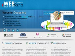 eWeb Genie Website Development, Designing and Seo