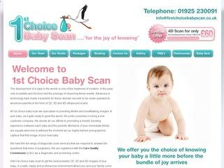 First Choice Baby Scan - Ultrasound, Fantastic 4D scans from only £60