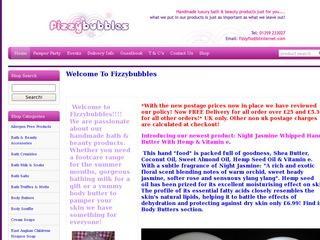 Fizzybubbles Handmade Bath & Beauty Products
