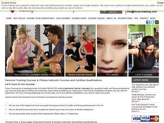Focus Training - Personal Trainer Courses