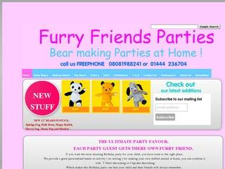 Furry Friends Parties, Bear making at Home !