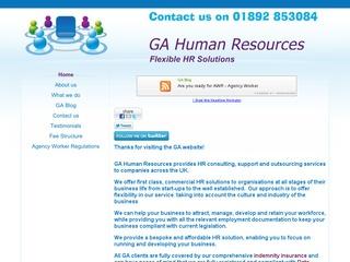 GA Human Resources