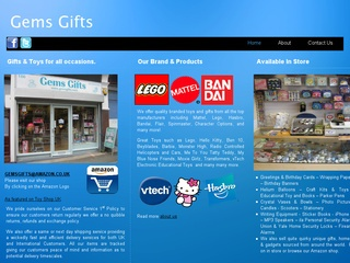 Gems Gifts Toy Shop