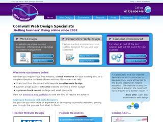 Glassraven web design