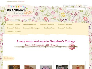 Grandma's Cottage Gifts Ltd