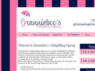 Grannieboo's Babysitting Agency