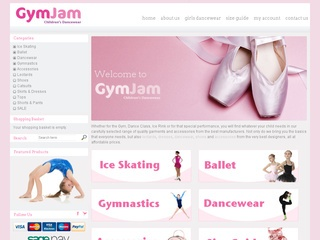 GymJam Children's Dancewear