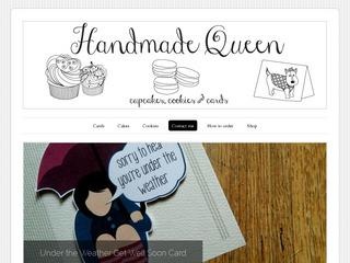 Handmade Queen - cakes, cookies & cards