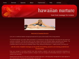 Hawaiian Nurture- Lomi Lomi Massage