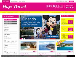 Hays Travel Late Deals Family Holidays