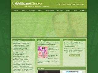 Health Insurance Help - Healthcare Whisperer
