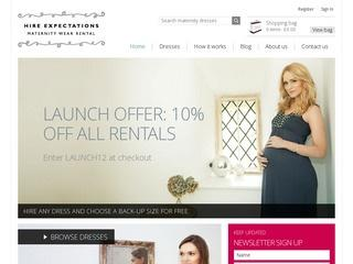 Hire Expectations Maternity Wear Rental