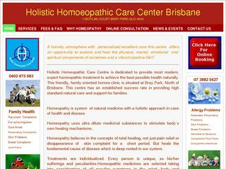 Holistic Homoeopathic Care Centre