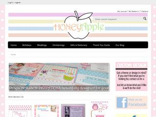 HoneyApple Personalised Invites