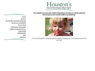 Houston's Nutritional Therapy